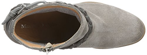 Marc O'Polo Mid Heel Bootie, Bottes femme Gris - Grau (taupe/grey 702)
