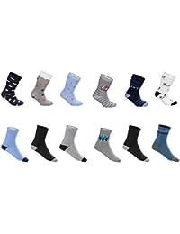 SG-WEAR 12 pares de calcetines para niños para Chico con un alto contenido de algodón Calcetines de deporte coloridos en varios motivos/medias en tallas 23-26, 27-30, 31-34, 35-38