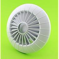 Parete Ventilatore da soffitto, Ø 150mm con cuscinetti a sfera e umidità sensor/umidostato e Timer aRidHS ventilatore per bagno ventola soffitto Ventola 15cm ventola ventilatore da bagno, da cucina, silenzioso spazio ventola aria funzionamento continuo a parete