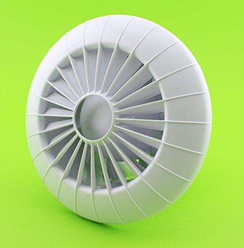 Pared-Ventilador de techo Ø 100Mm Con Rodamientos y temporizador/seguimiento baño Ventilador Ventilador...