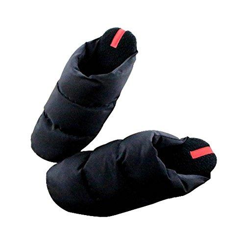 Pantoufles Chaussons Chintillons en Coton Chaussures Home Hommes sub black