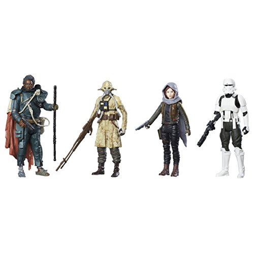 Star Wars - C1231EU40 - Rogue One Pack de 4 Figurines - 10 cm