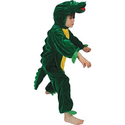 Tierische Boogie Woogie Krokodil Kostüm große 7-8 Jahren.