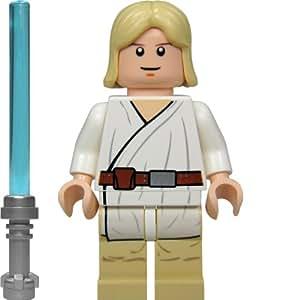 LEGO Star Wars Minifigur - Luke Skywalker mit blauem Laserschwert