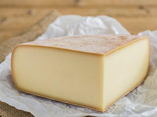 RACLETTE - AKTION: Schweizer Raclettekäse \'RACLETTE SWISS\' als 1/4 (viertel) Käse Laib 1200g - VAKUUMVERPACKT - Laktosefrei - Vegetarisches Lab - Aus bester Sommermilch