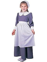 Rubies Costume Co R10557-S Colonial - Pilgrim Muchacha PEQUE-A Ni-o