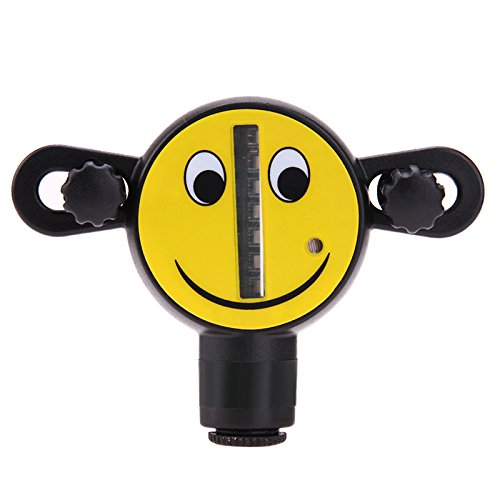 ShopSquare64 Lächelndes Gesicht LED Fahrrad-Rad-Lichter Klein und einfach tragen Mountainbike Speichen Dekorative Lichter (Fahrrad Tragen)
