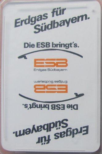Preisvergleich Produktbild ESB Erdgas Südbayern - Skatspiel - franz. Blatt