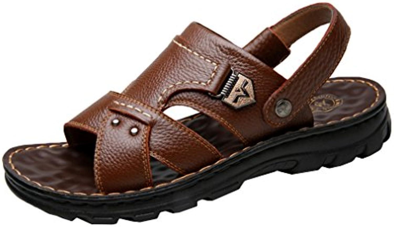 Männer Sandalen Rutschfeste Offene Spitze Polyurethan Flache Schuhe Sommer Verschleißfest Sandalen Schuhe für
