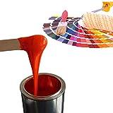 Epoxidharz Farbe 350g | Deckende Farbpaste für Giessharz | Einfärben von Epoxid-Harz, verschiedene RAL-Farben für z.B. Rivertable, Bastelarbeiten, Modellbau uvm. | Mausgrau - RAL7005