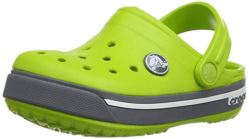 Carbone Crocs Crocband Adulte Sabots Verde volt Mixte Vert w4S0zqx41