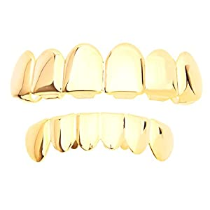 .iced-out. Grillz – Gold – *One Size fits All* – Set