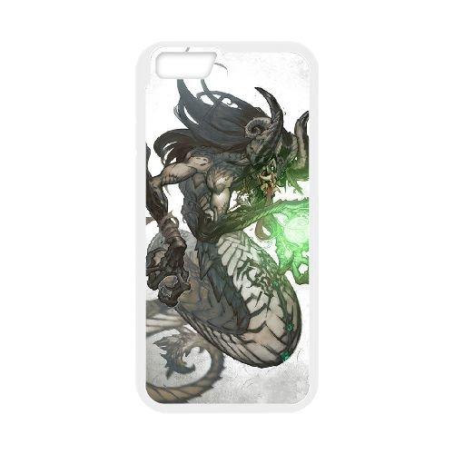 Darksiders coque iPhone 6 Plus 5.5 Inch Housse Blanc téléphone portable couverture de cas coque EBDXJKNBO14917