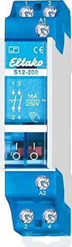 Eltako Stromstoßschalter 12V DC, 2 Schließer 16A/250V AC, 1 Stück, S12-200-12VDC