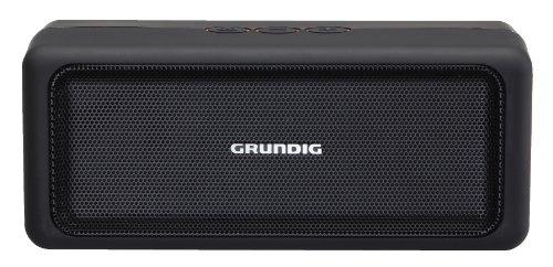 Grundig GSB 120 Bluetooth Lautsprecher schwarz/orange