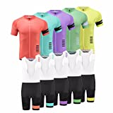 Uglyfrog 2018 Neue Radsport Anzüge Herren Short Trikots+Bib Kurze Hosen Gel Pad Summer Cycling Kit Triathlon Clothes 03