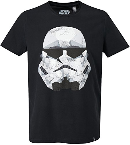 GOZOO Star Wars T-Shirt Herren Imperial Stormtrooper - Graphic 100% Baumwolle L
