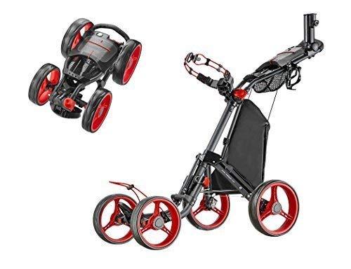 Caddytek Superlite Quad V2 4-rad Trolley Pousse golftrolley...