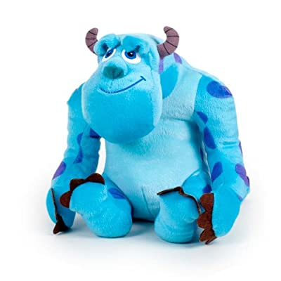 Sully 20cm James P. Sullivan Muñeco Peluche Monstruo Azul Disney Monstruos SA de Play by Play
