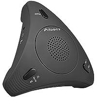 Micrófono condensador omnidireccional 360º con micrófono y altavoz, para videoconferencias de negocios, de instalación inmediata