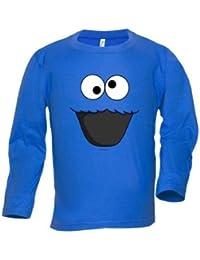 Camiseta Monstruo de las galletas manga larga (Talla: TALLA-L)