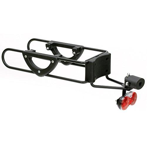Andersen Kupplung G1-Pull Easy mit Schloss und Diodenrücklicht für Fahrrad schwarz