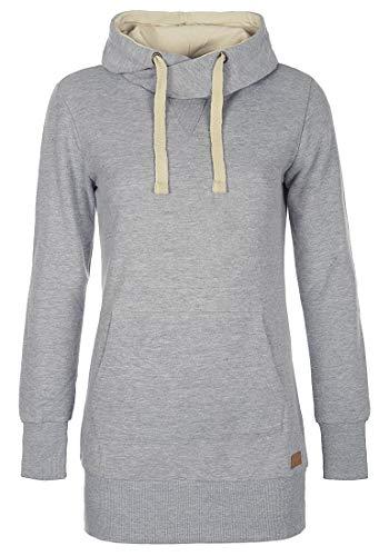 Blend SHE Jenny Damen Kapuzenpullover Hoodie Sweatshirt mit Fleece-Innenseite aus hochwertiger Baumwollmischung, Größe:L, Farbe:Stone Mix (70813)