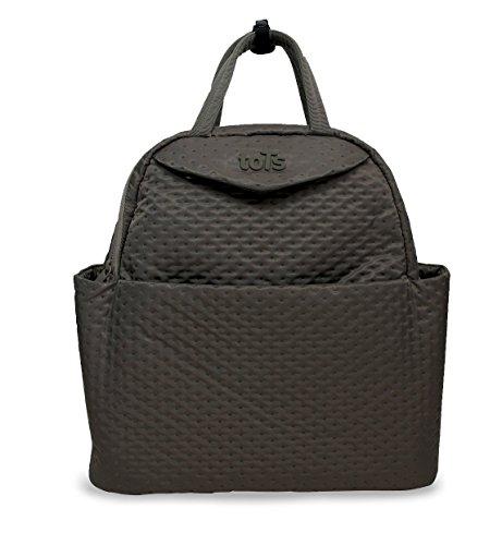 Tots by Smart Rike 100-201infinity Borsa fasciatoio, 38x 18x 38cm, grigio-Quilt