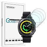 [4 stück] NEWZEROL Ersatz für Samsung Gear Sport Panzerglas Schutzfolie, High-Definition Bildschirmschutz Kratzfest blasenfrei Bildschirmschutzfolie für Gear Sport Smart Watch-[Lebenslange Ersatzgarantie]