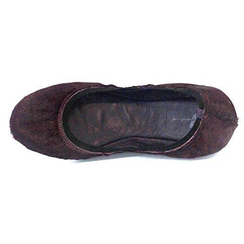7 per tutte le pantofole Mankind Snug Ballerina, misura 4, Viola (viola), 36.5