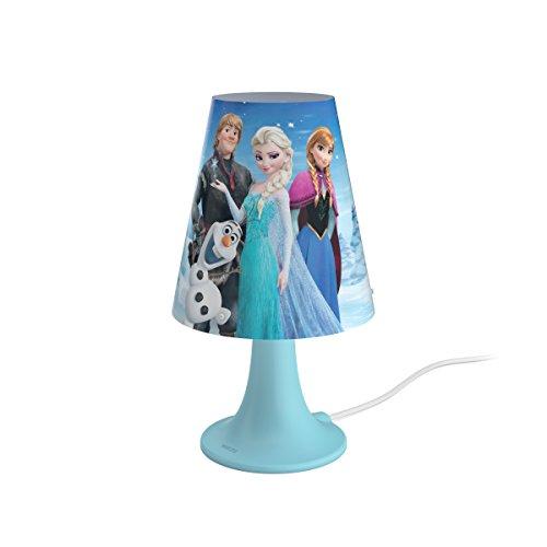 Philips Disney Frozen (Die Eiskönigin) LED Tischleuchte, hellblau