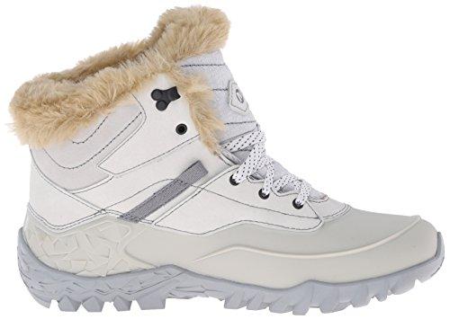 Merrell Fluorecein Shell 6 Wtpf, Chaussures de Randonnée Femme Grigio (Ash)