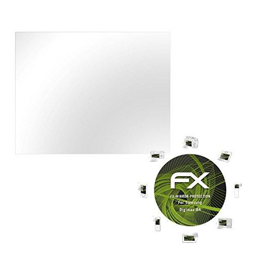 atFoliX Displayfolie kompatibel mit Samsung Digimax A4 Spiegelfolie, Spiegeleffekt FX Schutzfolie Samsung Digimax