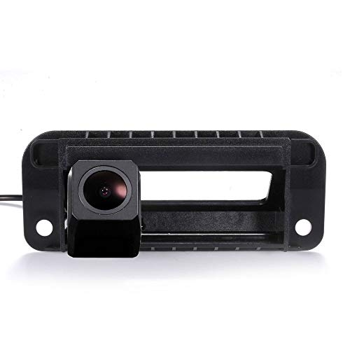 HDMEU HD Color CCD Wasserdicht Auto Rückfahrkamera 170° Betrachtungswinkel Rückfahrkamera für Mercedes Benz W204 S204 C Klasse W212 C180 C200 C260 C300 Color Ccd Wasserdichte Kamera