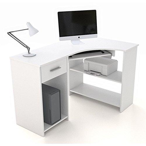Pc eckschreibtisch  pc eckschreibtisch weiß - Bestseller Shop für Möbel und Einrichtungen