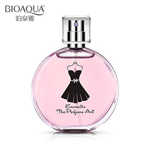 Tamaño portátil Fragancia fresca Perfumería original Mujeres Perfume Mujeres Hombres Perfume Fragancia duradera botella de spray (precio: 5,99€)