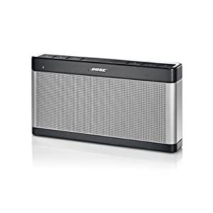 Bose SoundLink Wireless Bluetooth Speaker III - Silver