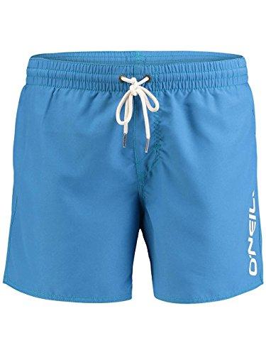 Herren Boardshorts O'Neill Solid Logo Boardshorts Deep Water Blue