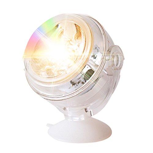 Zantec Bunte LED Unterwasser Unterwasser Aquarium Spot Light Dekorative Fisch Tank Lampe