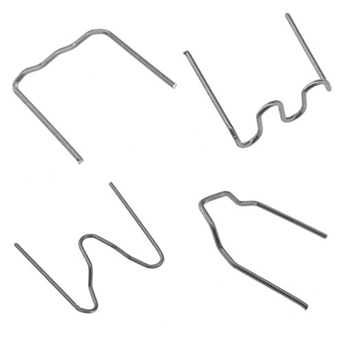 ENET Heissklammern aus Edelstahl, für Schweißgerät aus Kunststoff, zur Reparatur von Klammern, für Auto-Stoßfänger