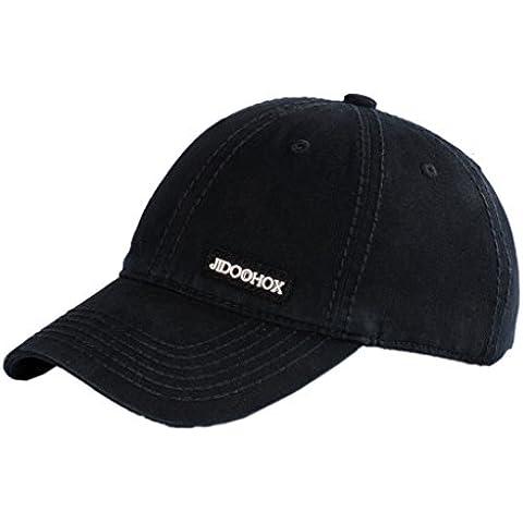 Sumolux UV Sombreros Gorros Visera de Pesca Transpirable Simple Pescador Protección contra Sol Casquillo para Hombres Mujeres