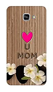 SWAG my CASE PRINTED BACK COVER FOR SAMSUNG GALAXY A9 2016 Multicolor