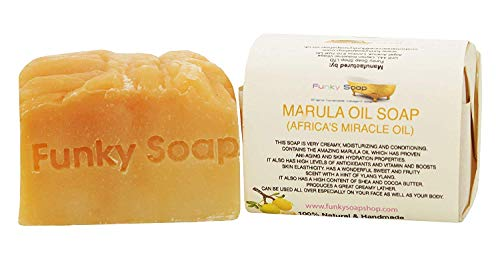 Funky Soap Marula (Africa's Wunder Öl ) Seife 100% Natürlich Handgemacht, 1 bar Of 120g -