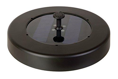 Steinberg TZS 600/6 Li Solar-Schwimminsel, LED-Beleuchtung, Funk-Fernbedienung, bis 250 l/h Fördermenge
