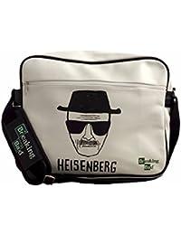 Producto oficial de Breaking Bad bolso bandolera - Heisenberg Walter White diseño de la bandera de