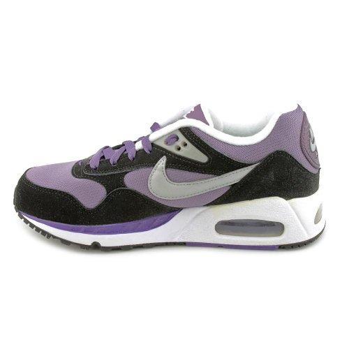 Nike Damen Wmns Air Max Correlate Turnschuhe, Blau, 38 EU Violett (Drk Plm / Mtllc Slvr-Crt Prpl-Bl)