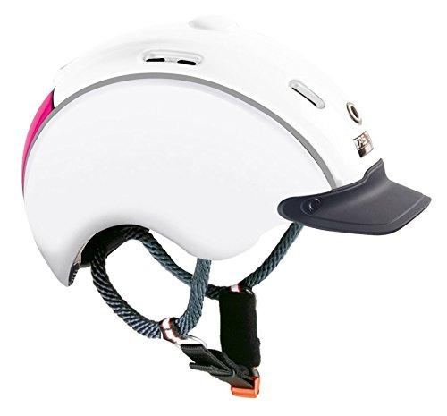 EKKIA (Ekia) 4031381405500 Reitausrüstung, Weiß & Pink, Casco Nori Weiß/Pink S / 50-52 912313001