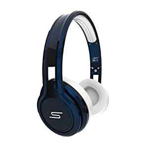SMS Audio STREET by 50 Cent On-Ear Limited Edition Headphones - Blue (discontinued by manufacturer)