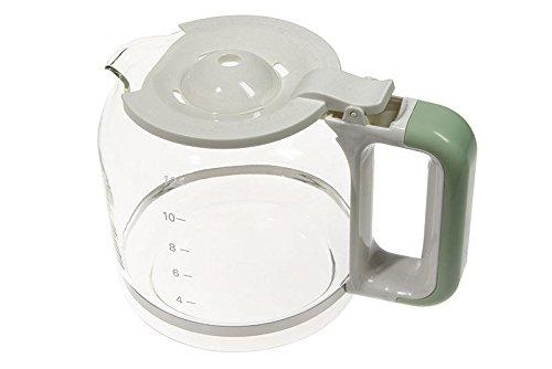 Grüne Krug (Ariete Karaffe Krug Behälter Einmachglas Glas grün Kaffeemaschine 1342)