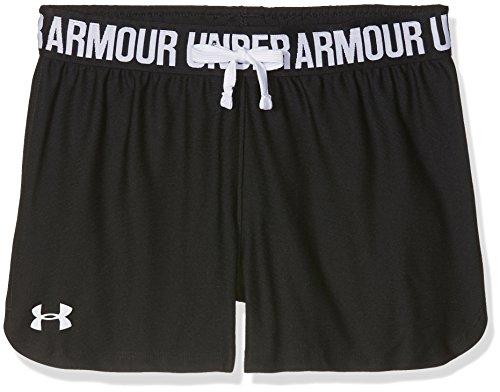 Under Armour Mädchen Play Up Shorts Kurze Hose, Schwarz, YSM